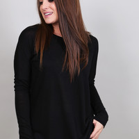 Black Out Long Sleeve Tunic