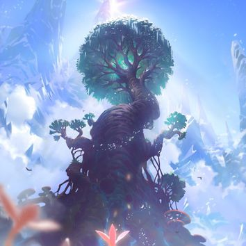 Tree Of Life, an art print by Maximilian Degen