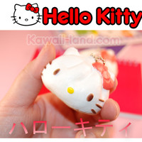 Hello Kitty Sanrio Re-ment Squishy Steam-Bun Special Edition Ball Chain Charm