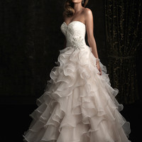 Allure Bridals 8955 Ruffled Wedding Dress