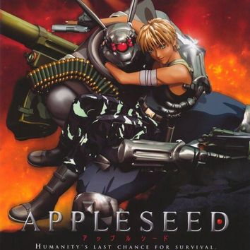 Appleseed 11x17 Movie Poster (2004)