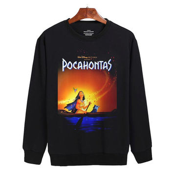 Pocahontas disney Sweater sweatshirt unisex adults size S-2XL