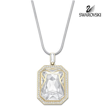 Swarovski Clear Crystal Jewelry AFTERNOON Pendant Necklace #5038218