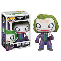 Funko POP! Dark Knight Trilogy - THE JOKER (4 inch): BBToyStore.com - Toys, Plush, Trading Cards, Action Figures & Games online retail store shop sale
