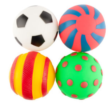 Grreat Choice® Ball Set Squeaker Dog Toy
