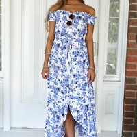 Floral Fresh Maxi Dress | Xenia Boutique | Women's fashion for Less - Fast Shipping
