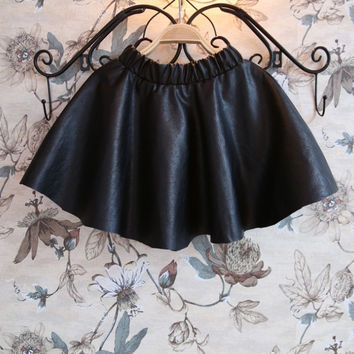 girls tutu skirt children girls leather skirt skirts for kids toddler girl clothing christmas balls 2015