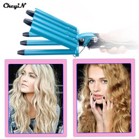 Pro Nano Titanium 5 Barrels Five Pipe Joint Big Hair Wave Waver Ceramic Curler Curl Curling Irons Hairstyle Tools HS11-S5050