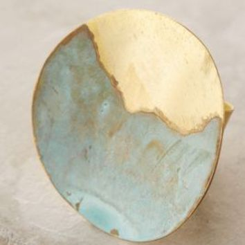 Sibilia Ipanema Ring in Turquoise Size: One Size Rings
