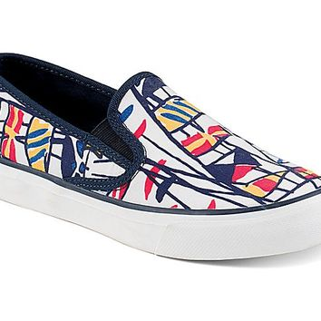 Seaside Signal Flag Slip-On Sneaker