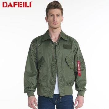 New CWU/45P Man Bomber varsity motorcycle military windbreaker waterproof army women letterman Pilot Flight streetwear Jacket