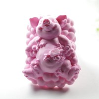 Bathing Pig Silicone Soap Mold