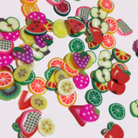 Fimo Nail Deco - Fruits