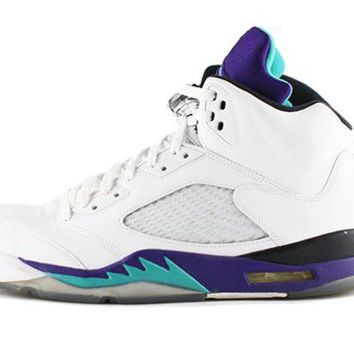 DCCK4VQ Air Jordan 5 Retro 'Grape'
