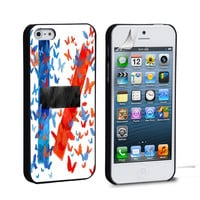 twenty one pilots logo butterfly iPhone 4 5 6 Galaxy S3 4 5  Case