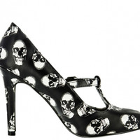 Skull Binded Maryjane Heel Women's By Iron Fist