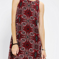 Urban Outfitters - Staring At Stars New Orleans Silky Frock Dress