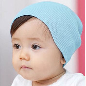 2017 New Fashion Cute Baby Beanie Hat Beanies For Girls & Boys Multicolored Crochet Beanie Baby Hats High Quality Free Shipping