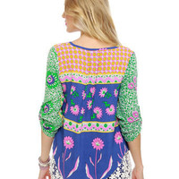 Lucy Love Marlow Top - Floral Print Top - $50.00