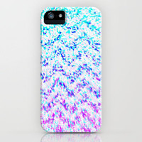 Chevron Splash iPhone Case by M Studio