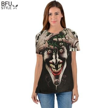 Batman Joker DC Comics Superhero 3D Print T-Shirt Women Men Summer Style T Shirt Homme Harley Quinn Carnage Joker Tees Outfits