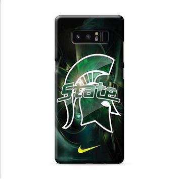 Michigan State nike 2 Samsung Galaxy Note 8 case