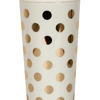 kate spade new york dot thermal travel mug - Ivory