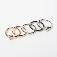 Womens Stackable Rings | Womens Accessories & Jewelry | Abercrombie.com
