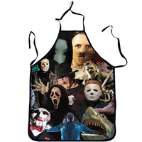 Horror Movie Paparazzi Halloween Cooking Apron