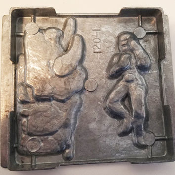 blue power ranger metal mold polymer clay molds action figure super hero mould vintage 1994 toy max
