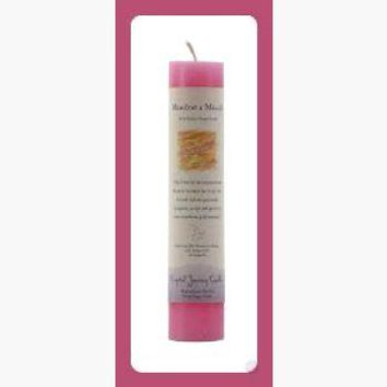 Manifest A Miracle Reiki Charged Pillar Candle