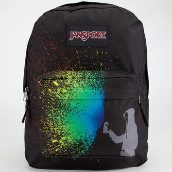 Jansport Black Label Superbreak Backpack Mammoth Blue Color Burst One Size For Men 22893314901