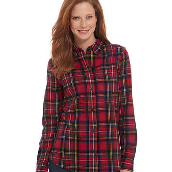Scotch Plaid Shirt: Corduroy and Flannel | Free Shipping at L.L.Bean
