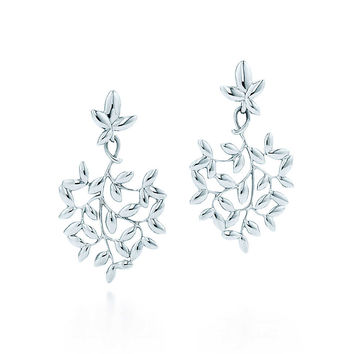 Tiffany & Co. - Paloma Picasso®:Olive Leaf Drop Earrings