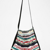 Urban Renewal Sweater Stripe Bucket Bag - Urban Outfitters