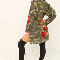 Tough Romance Jacket - Camouflage