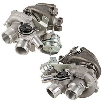 Pair Brand New Turbo Kit With Left & Right Turbocharger For Ford F-150 Ecoboost - BuyAutoParts 40-80242IK New