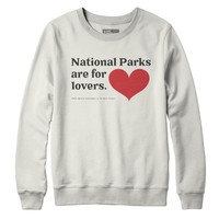 National Parks are for Lovers Fleece Sweatshirt