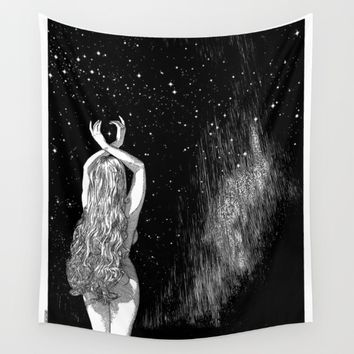 asc 604 - L'invocation à Vénus (Venus under the sky) Wall Tapestry by From Apollonia With Love