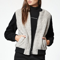 OBEY Arctic Sherpa Fleece Bomber Jacket at PacSun.com