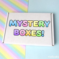 SALE Mystery Boxes and Pin Packs • LGBTQ* & Feminist Bargains