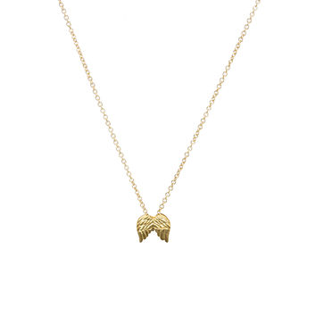 Guardian Angel, Angel Wings Necklace, Gold Dipped   Dogeared