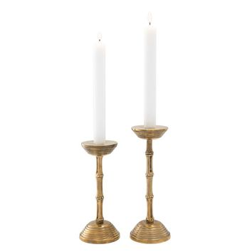 Brass Candle Holder Set | Eichholtz Gallions