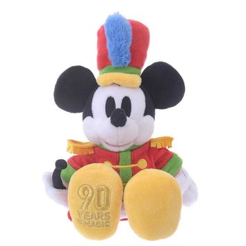 Disney Store Japan 90th 1935 Mickey The Band Concert Plush New with Tags