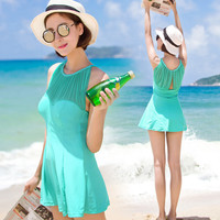 Fashion One Piece Beach Swimwear