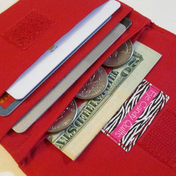 Women's Wallets, Solid Color Wallet, Custom Wallet, Change Purse, Small Fabric Wallet, Solid Colored Wallets