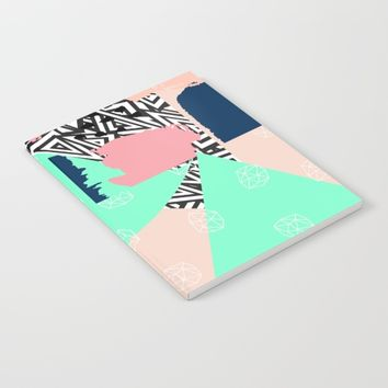 Obtuse Notebook by Vanora Designs