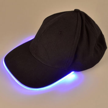 LED Hat - Ultra Bright Lights Unisex Baseball Cap