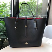 COACH WOMEN'S LEATHER MARKET TOTE BAG