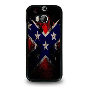 BROWNING REBEL FLAG  HTC One M8 Case Cover